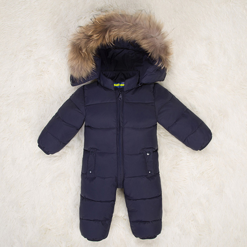 NAET cher baby romper girl boy winter jumpsuit kids