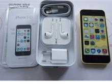 "Original Unlocked Apple iPhone 5C Mobile Phone IOS GPS WIFI Dual Core 4.0"" 8GB/16GB/32GB  iphone5c cellphone"
