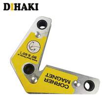 цены 1Pcs Magnetic Holder Corner Welder Positioner Fixer Device Internal And External Right Angle Fixator 60 90 Angles Magnetic Clamp