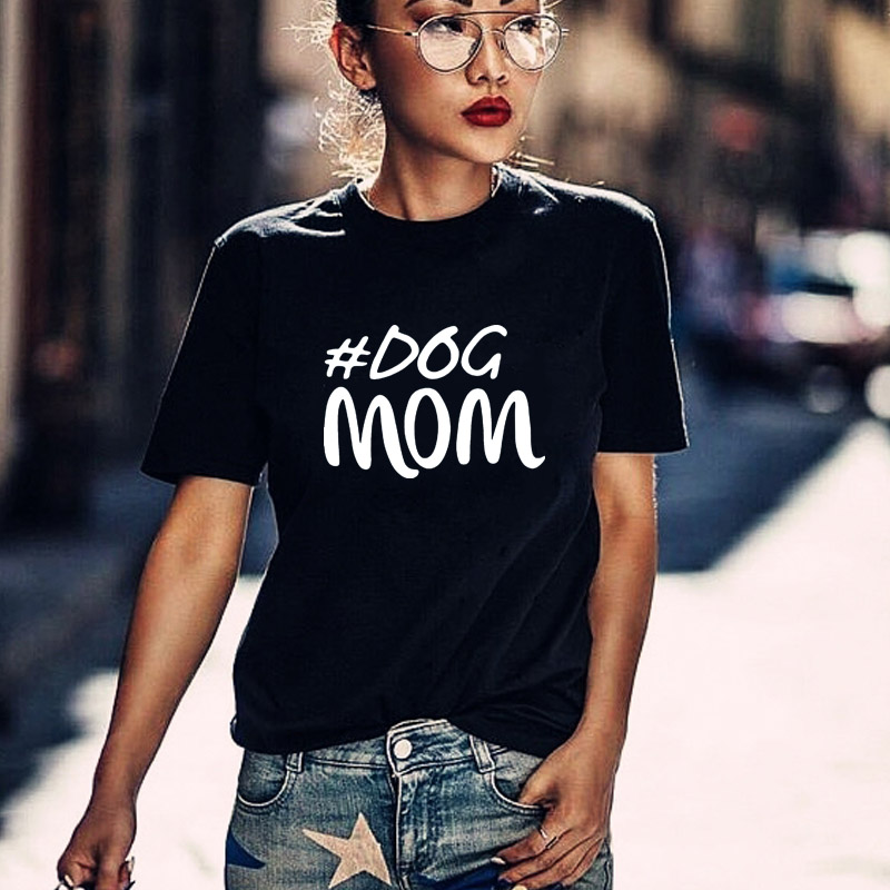 Harajuku Dog Mom Shirt Mothers Day Gift Womens T Lover Graphic Tees summer tops