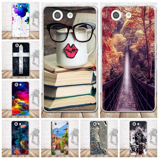 Soft TPU Cover for Sony Z3 Mini Case Phone Covers For Sony Xperia Z3 Compact Z3 Mini M55W D5803 Transparent Silicone Back Cover
