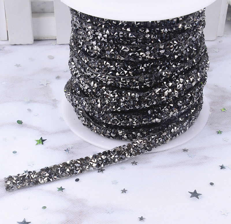 Detail Feedback Questions about 5yard lot 1cm wide hotfix rhinestone Trim  Mesh strass chain cyrstal Banding bridal applique for garment wedding dress  ... c55a8382d6ac