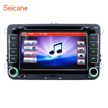 Seicane 2din universal 7″ WinCE 6.0 GPS Bluetooth FM Car DVD Stereo with SD for SKODA Octavia VW Polo T5 BORA Golf B6 SEAT Leon