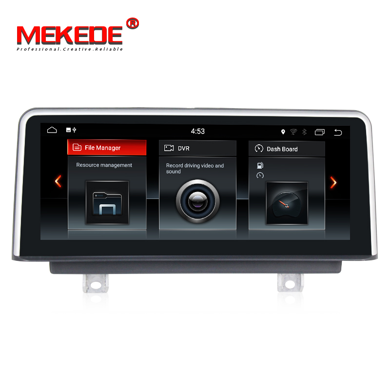 все цены на Tesla screen IPS car dvd android7.1 car navigation GPS NAVI for BMW 3 Series F30/F31/F34 (2013- 2017) original NBT system