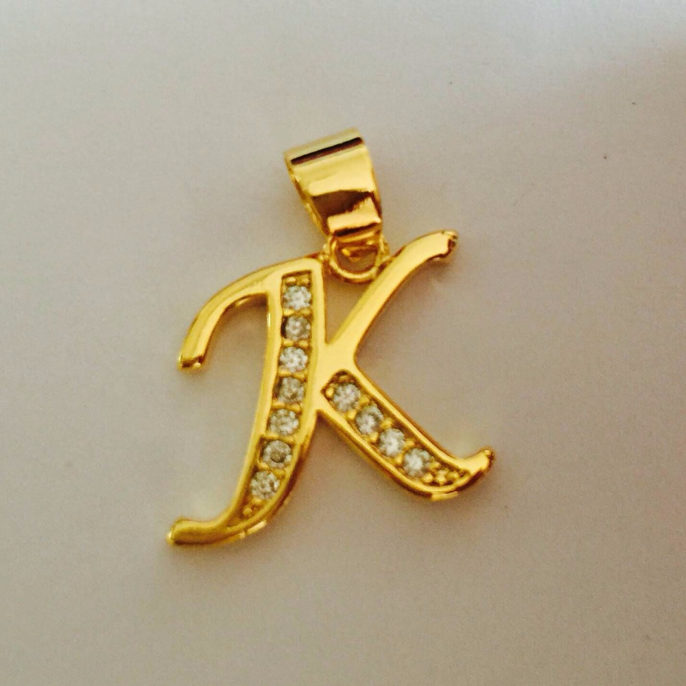 Gold color necklace women men capital initial k letter pendant gold color necklace women men capital initial k letter pendant necklace crystal fashion alphabet letter necklace in pendants from jewelry accessories aloadofball Image collections