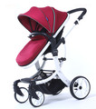 High landscape baby stroller can sit lying folding two-way four wheel shock proof baby cart