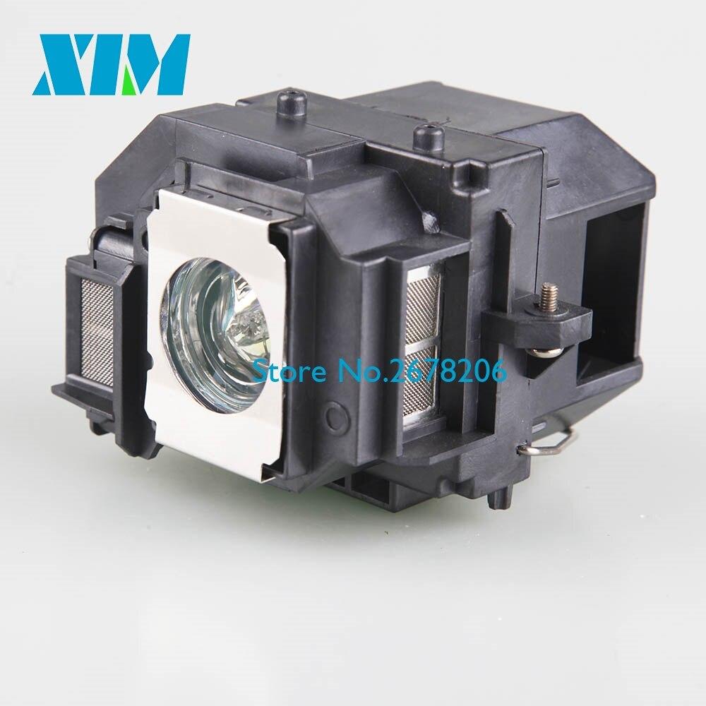 Per Epson POWERLITE X9/S9/1220/1260/VS200/EX3200/5200/7200 PJ-LMP V13H010L58 lampada di ricambio LAMPADA ELPLP58 Compatibile Con Epson