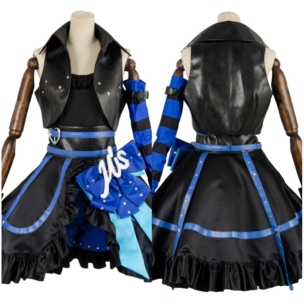 Halloween Party Cosplay Costume Love Live LL Arcade 3rd Gen Umi Sonoda Stage Suit Cosplay Costume Dress Outfit