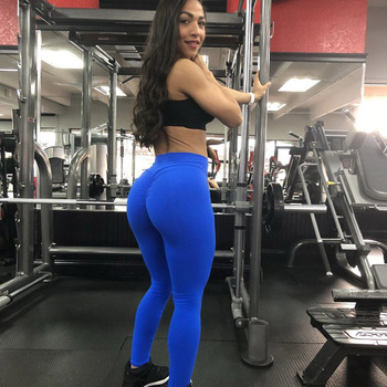 2020 Women Leggings Polyester High Quality High Waist Push Up Legging Elastic Casual Workout Fitness Sexy Bodybuilding Pants 2