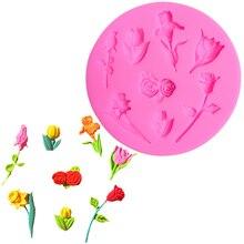 Lace Flower Silicone Mold Decoration Cake Mat Chocolate Gumpaste Fondant Molds Decorating Tools