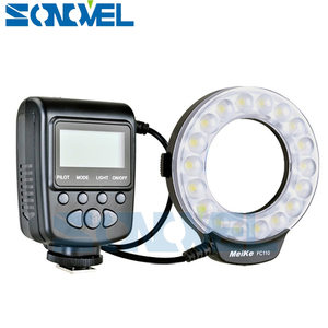 Image 3 - Meike FC 110 FC110 LED Macro Ring Flash Light for Nikon D500 D5 D7500 D3400 D3300 D810 D800 D750 D7200 D5600 D5500 D5300 D5200
