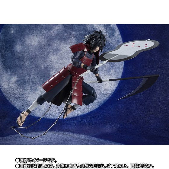 15cm Anime Naruto Shippuden Uchiha Madara SHF Collection Action Figure Toys