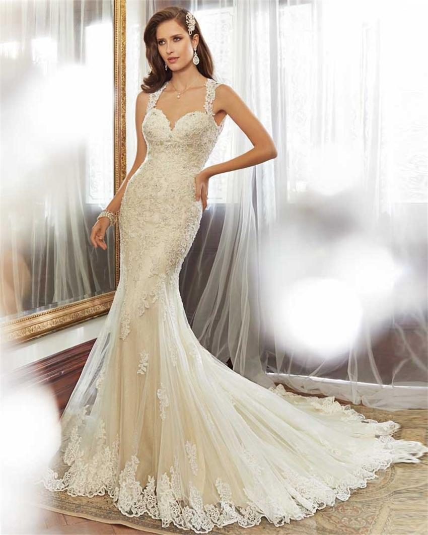 Popular latest bridal gown buy cheap latest bridal gown for Simple off white wedding dresses