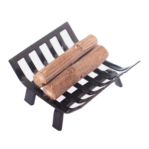 ABWE Best Sale 1/12 Dollhouse Furniture Metal Rack with Firewood for Living Room Fireplace Model