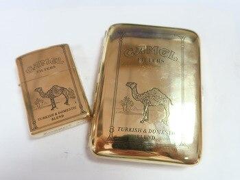 Camel-Vintage-Cigarette-Case-Gasoline-Lighter-Gold-Portable-Metal-Windproof-Lighter-Gadgets-for-Men