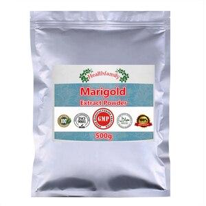 Image 3 - 100% Pure Goudsbloem Extract Luteïne Poeder, Afrikaanse Goudsbloem, Goed voor Vision, Anti Mobiele Aging, voorkomen Ziekten