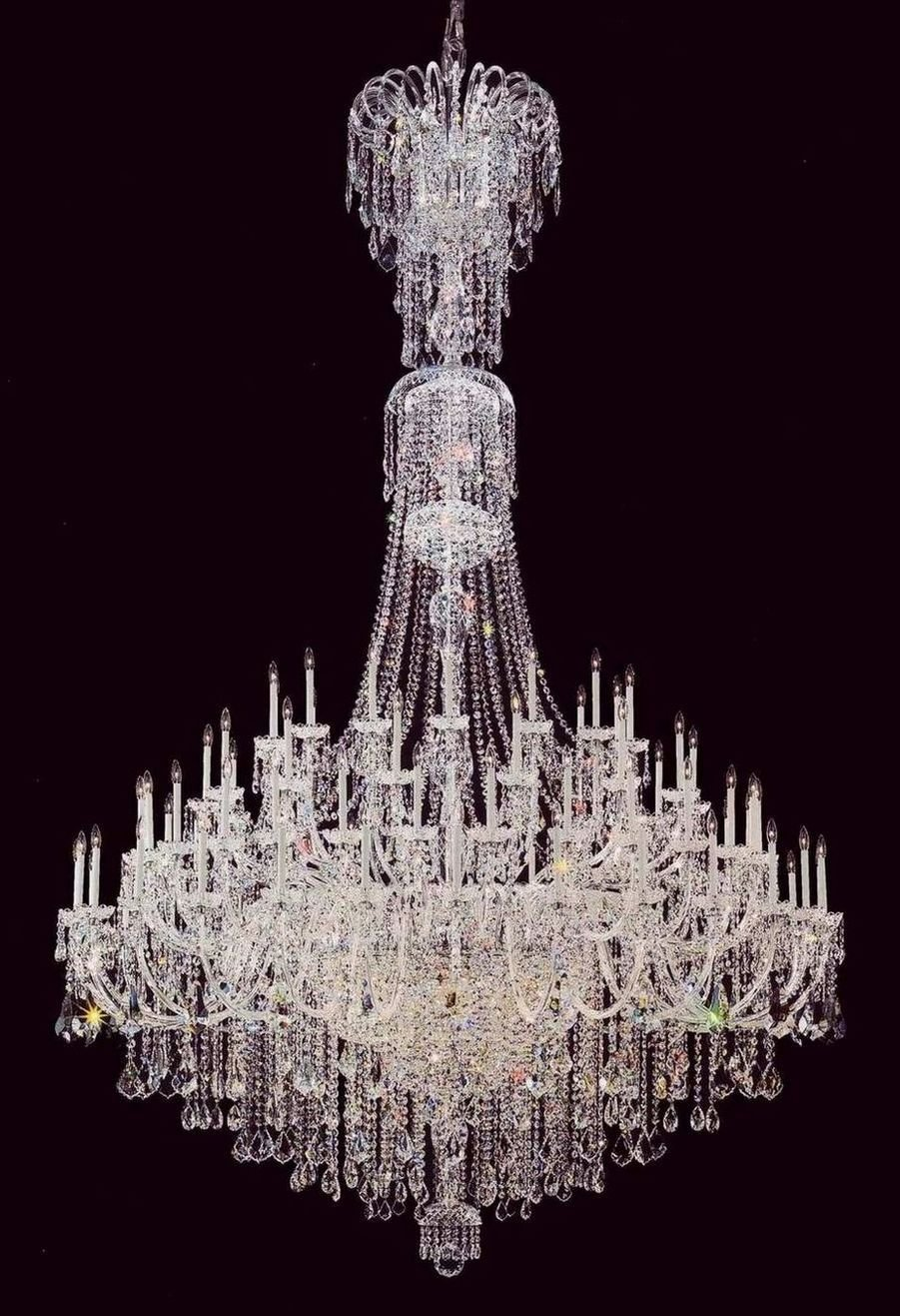 Foyer Crystal Chandelier Large Hotel In Chandeliers From Lights Lighting On Aliexpress Alibaba Group