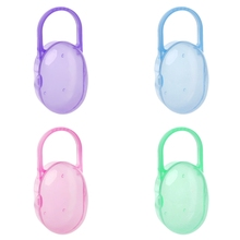 1Pc Soild Portable Baby Infant Kids Pacifier Nipple Cradle Case Holder Travel Storage Box