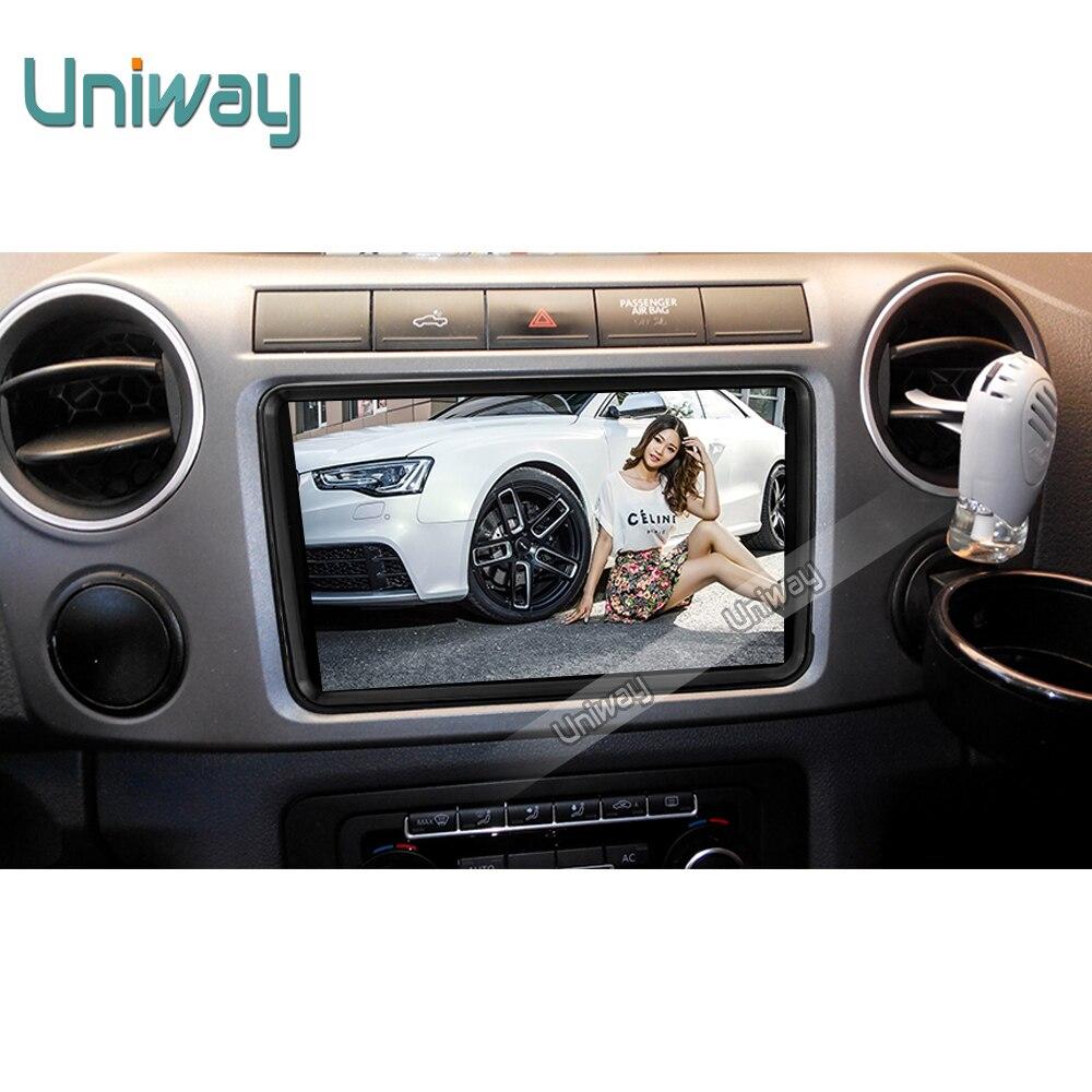 imágenes para Uniway 2G + 16G 2 din android de dvd del coche para vw passat b5 b6 golf 4 5 tiguan polo skoda octavia fabia rápido multimedia player gps
