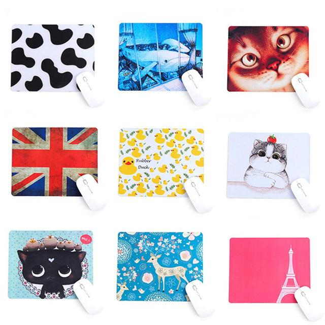 Innovative Korean Variety Of Cartoon Rubber Mouse Pad Small Cute Beautiful Thick LOL PUBG Game Computer Office Gaming Mouse Pad