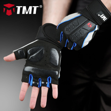 TMT Sports Gym Gloves Half Finger Breathable Weightlifting Fitness Gloves Dumbbell Men Women Weight lifting Gym Gloves