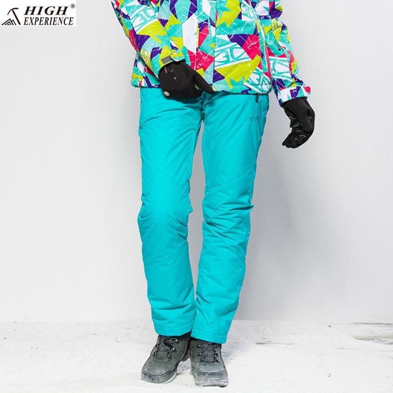 Pantalon de Ski femme hiver pantalon imperméable hiver femme pantalon de neige thermique pantalon de Snowboard femme russe vêtements de neige 42-52