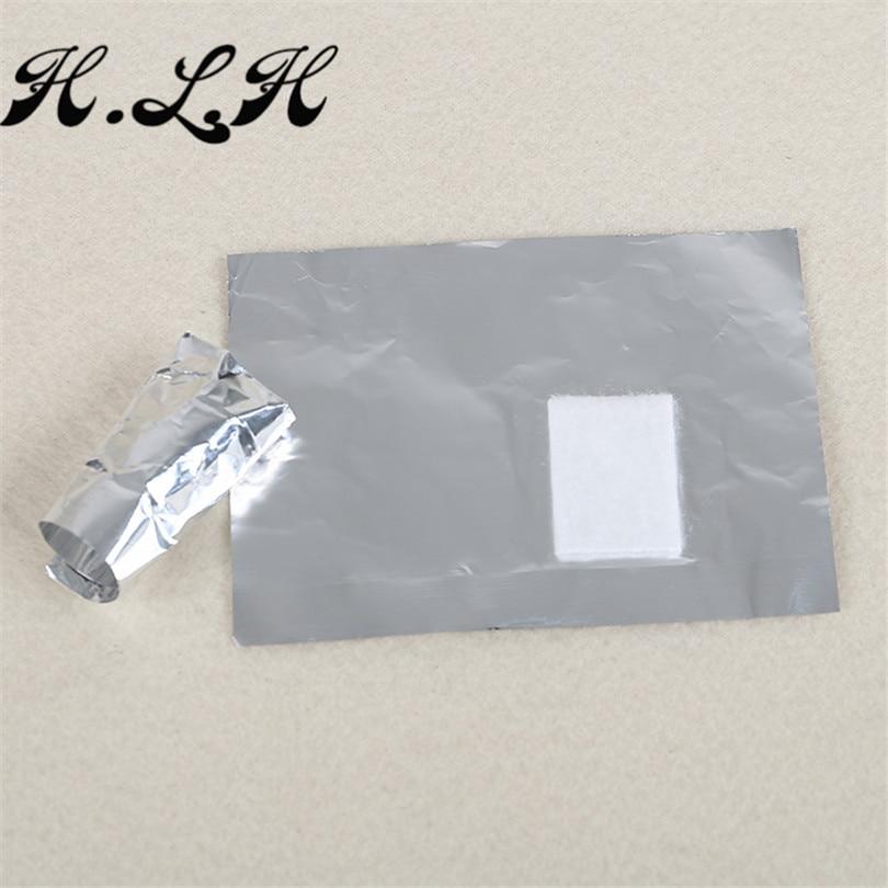 H.L.H 100 հատ / լաք եղունգների փայլաթիթեղի - Մանիկյուր - Լուսանկար 6