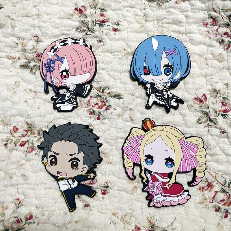 Anime Life In A Different World From Zero Subaru Natsuki Rem Ram Beatrice Acrylic Keyring Pendant Bag Phone Pendant Gifts