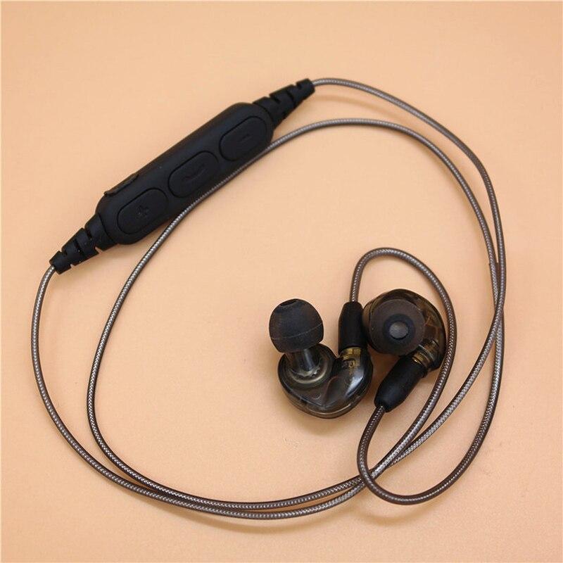 Съемная Беспроводной Спортивные наушники Bluetooth Plugable наушники устойчивое стерео гарнитура Super Bass для мобильного телефона