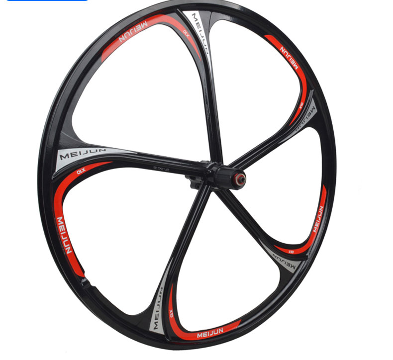 ACCRUE Magnesium alloy bicycle wheels  26inch mountain bike wheels magnesium aluminum alloy bicycle fork mountain air bike front shock 26 27 5