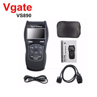 New OBD2 Scanner Maxiscan Vgate VS890 OBD Engine Fault Code Reader Analyzer ODB2 EOBD JOBD Car