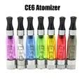 Calidad estupenda colorida Regular CE4 + CE4S 1.6 ml atomizador desmontable CE4 + EGO CE4S cigarrillo electrónico EGO
