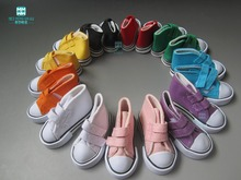 Mini toys doll Shoes 7 5cm sports shoes for Dolls 1 4 BJD Doll and 16