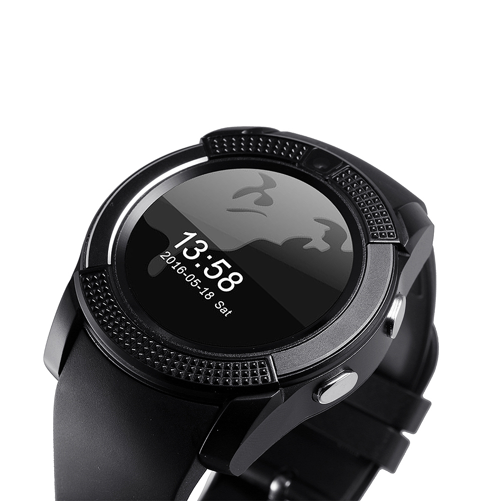 04dc39b4d3e0a1 Original round Watch Full Screen Smart Watch phone For Android IOS  Smartphone Support TF SIM Card Bluetooth Smartwatch men women