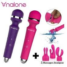 Nalone супер мощный мульти-скорость водонепроницаемый G-Spot AV палочка секс-игрушки, Волшебная палочка массажер вибраторы продукты секса для жен...(China (Mainland))