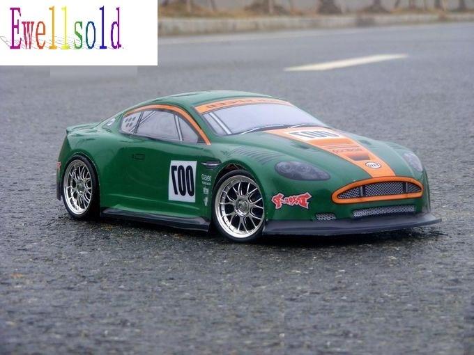 Ewellsold 1/10 RC car PVC Body Shell For 1:10 radio control car 190mm item No 048green 2pcs/lot free shipping ewellsold 1 10 rc car pvc body shell 200mm 033r red free shipping