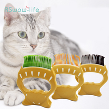 Pet Elastic Nylon Brush Plastic Cat and Dog Comb Open Knot Massage to Remove Hair