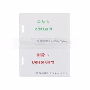 Image 5 - DIYSECUR 1000 Utenti Impronte Digitali 125 KHz RFID Card Reader 2 In 1 Door Lock Access Controller Kit Guscio di Plastica