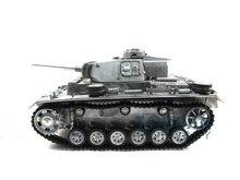 100% Metal Mato 1/16 Panzer IIII RC KIT Tank Infrared Version Metal Color 1223