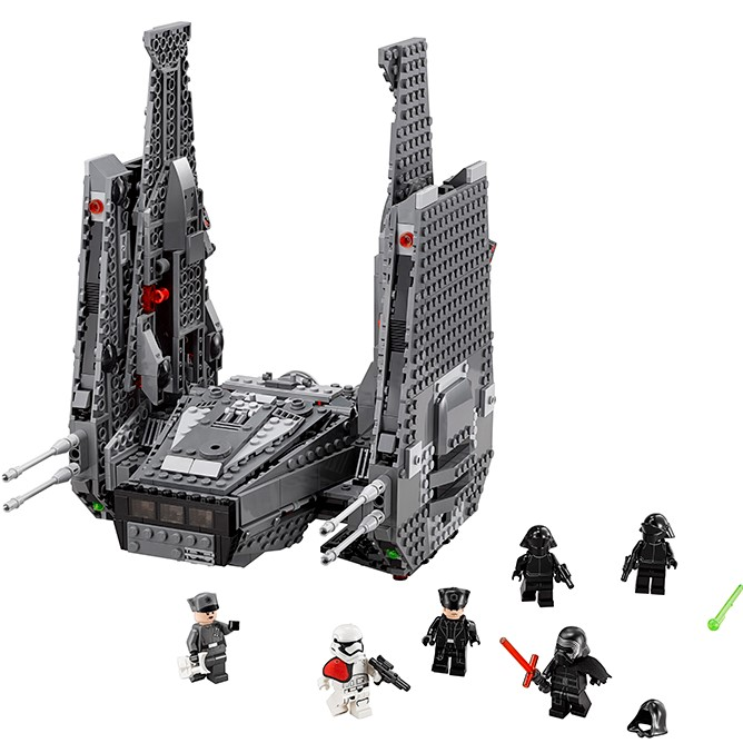 LEPIN Star Space Wars Kylo Ren Command Shuttle Figure Toys Building Blocks Set Compatible Bela Lele Brick Block DIY Toy Gift bela building blocks guardians of the galaxy groot rocket star space war set diy bricks toy compatible with superheroes