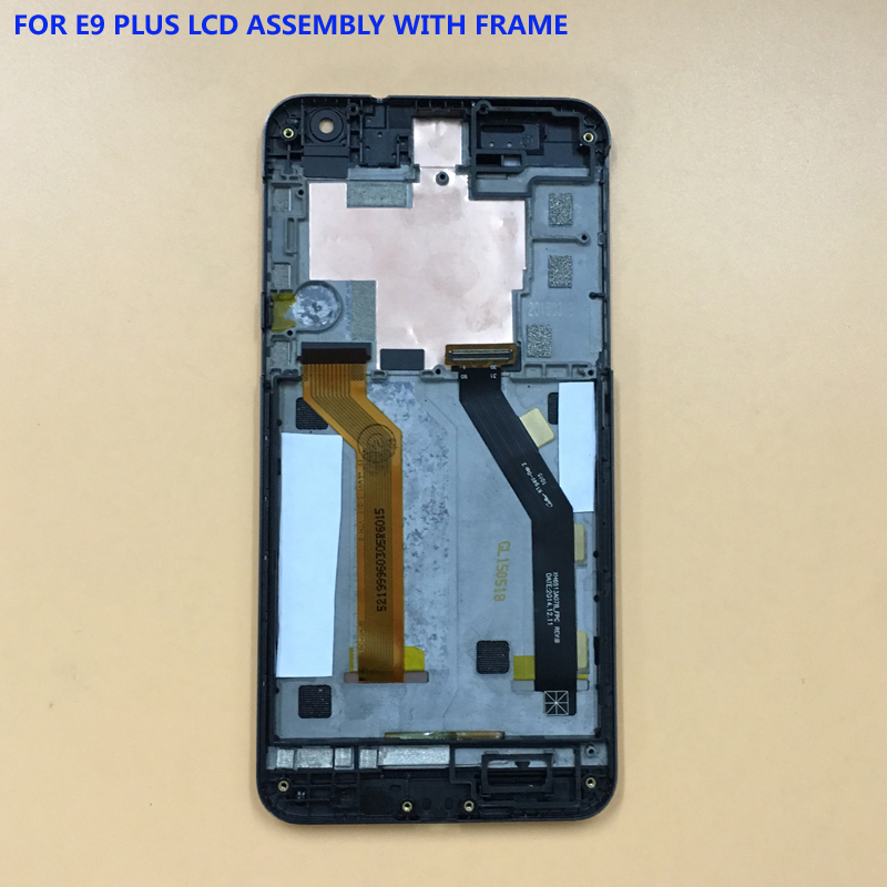 100% Test For HTC ONE E9+ E9 Plus Full Touch Screen Digitizer Panel Glass Sensor + LCD Display Monitor Module Assembly Frame