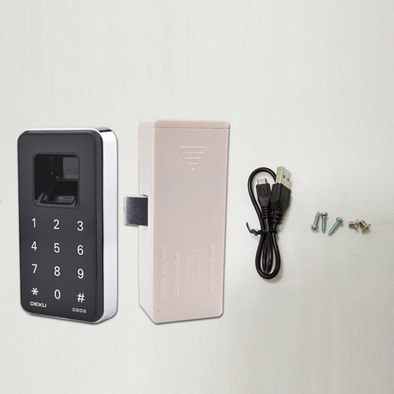 Serrure d'empreinte digitale armoire numérique tiroir armoire clapier casier électronique serrure sans clé SL @ 88