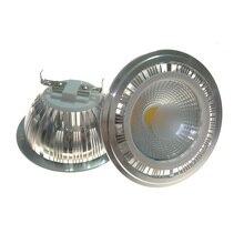 10pcs/lot LED AR111 10W G53 AC85-265V COB AR111,LED SPOT LIGHT replace halogen warm cold white spot light
