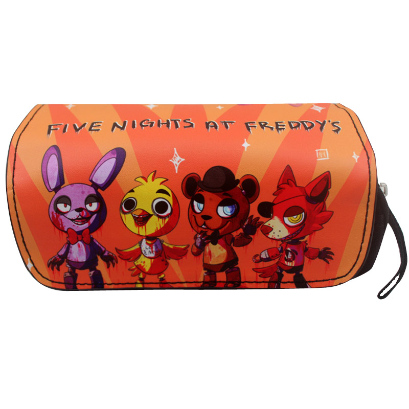 Cartoon Five Nights At Freddys Pencil Case Stationery Office