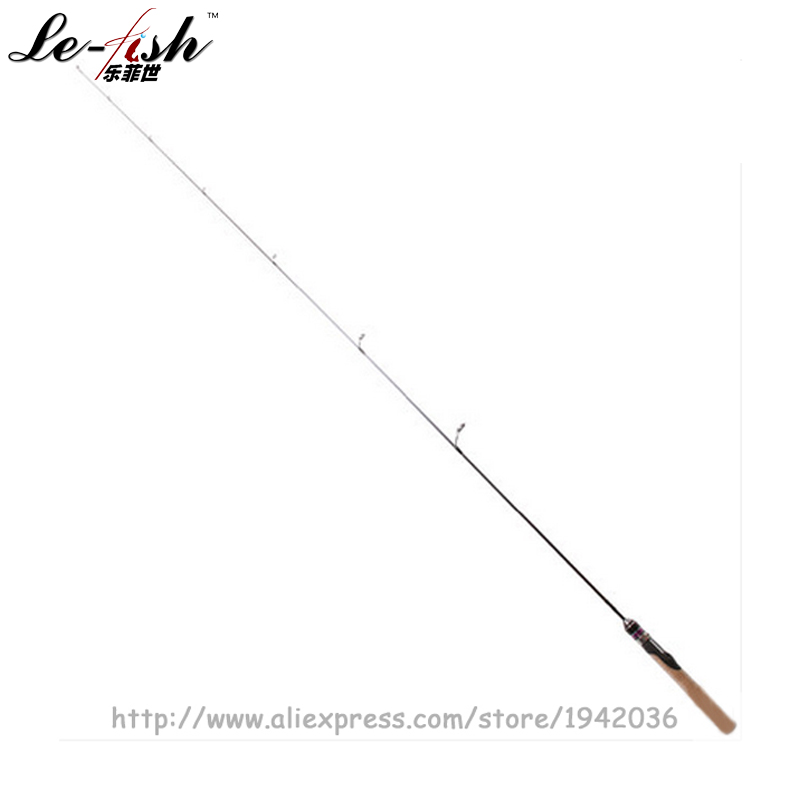 Hot Sale Carbon Fiber Material FUJI Accessories Spinning Lure Fishing Rod 1.68M 1.5Section Cork Handle UL Soft Action Quality 2 18m 110g ultralight soft lure rod ul l slightly grip spinning and casting handle fuji parts toray30t carbon lure weight 1 18g