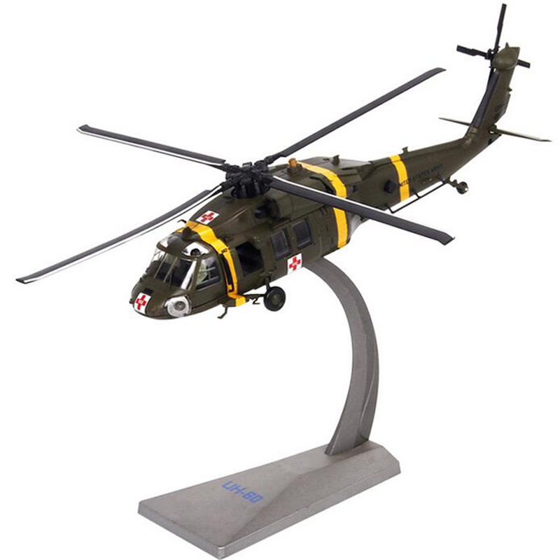 1/72 Scale Black Hawk UH-60 Helicopter Army Fighter Aircraft Airplane Models Adult Children Kids Toys Military Gifts1/72 Scale Black Hawk UH-60 Helicopter Army Fighter Aircraft Airplane Models Adult Children Kids Toys Military Gifts