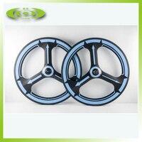 Novo design de carbono tri falou rodas para road bike clincher 23mm largura 3 falou rodas com acabamento fosco