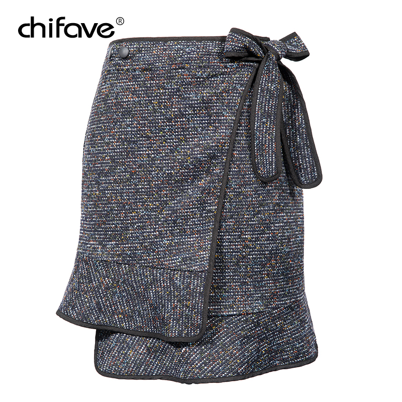 chifave Autumn Winter 2018 Fashion Women's Skirt Female