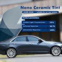 50% VLT UV400 Film (100% UV Proof) 1.52x3m Car Window Foils & Solar Protection Tint