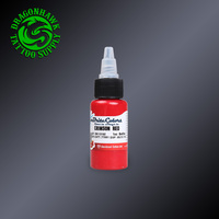 1OZ Crimson Red Color Tattoo Ink Original Imported Tattoo Pigment Permanent Tattoo Supplies 30ML